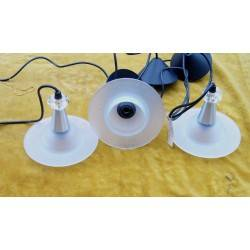 3 plafondlampen PaB5