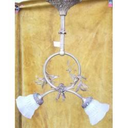 bronzen hanglamp