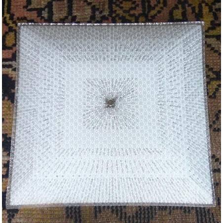 vierkante plafonniere