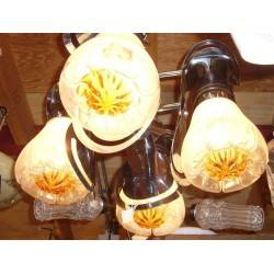 Mezzega Murano lamp