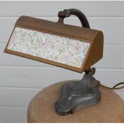 tinnen bureaulamp
