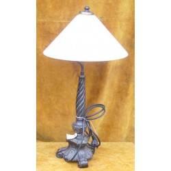 oude tafellamp