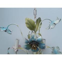 Bloemen kroonluchter