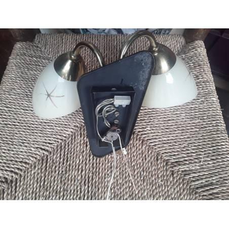 Set vintage wandlampen L3256