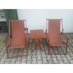 2x klapstoel +tafel C700