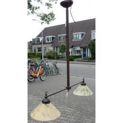 dubbele kaplamp