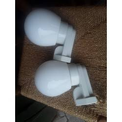 Set art deco wandlampen L4043
