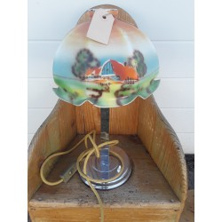 Bureaulamp met Engelse kap...