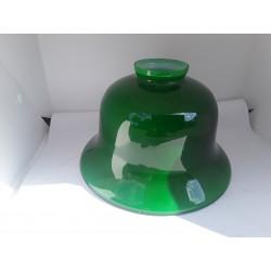 Set groene opaline kappen...