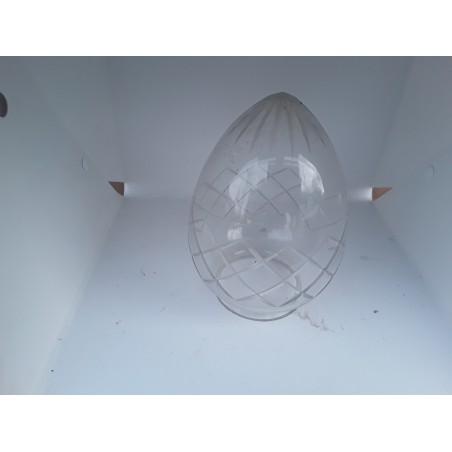 Geslepen heldere kap L4189