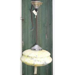 wrijfhout lamp L464