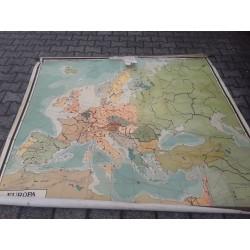 Schoolkaart Europa C726