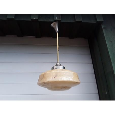 Art deco hanglamp PWt