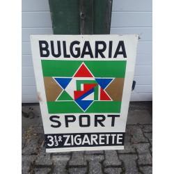 Cigaretten reclameplaat C432