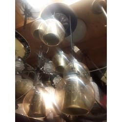 Kluster lamp met zes bollen...