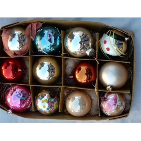 12 kerstballen