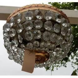 kristallen plafonniere